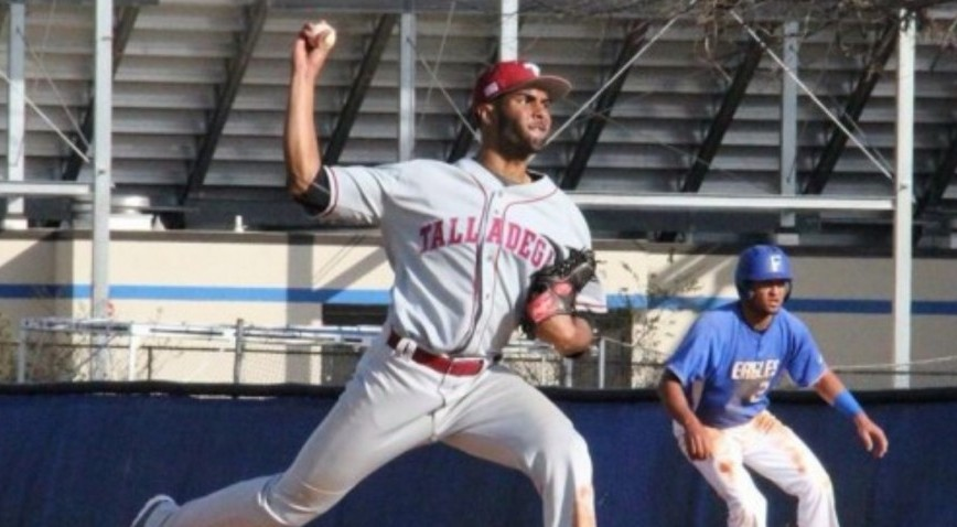 Luis Benitez is the first Talladega Tornado to sign with a Major League Baseball franchise.