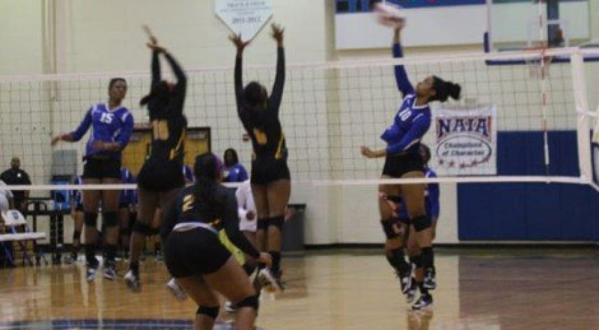 Senior Keylantra Taylor had four kills and four digs in the win over Tougaloo.