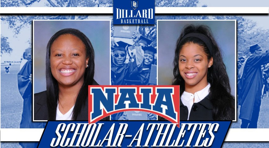 Keylantra Taylor and Alena Evans were named 2015 Daktronics-NAIA Women's Basketball Scholar-Athletes.