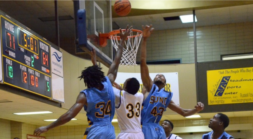 SUNO snapped its 3-game losing streak with a win over Morehouse College.