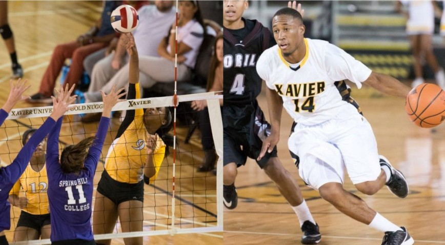 (9) CeCe Williams and Morris Wright both earned their first GCAC Player of the Week awards this week.