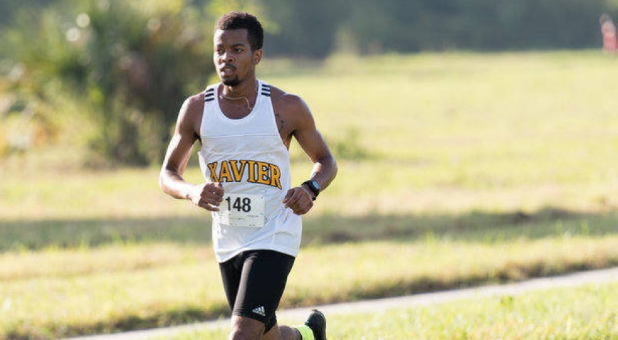For the third time in four years, Kwame Jackson stands alone as GCAC Cross Country Champion.