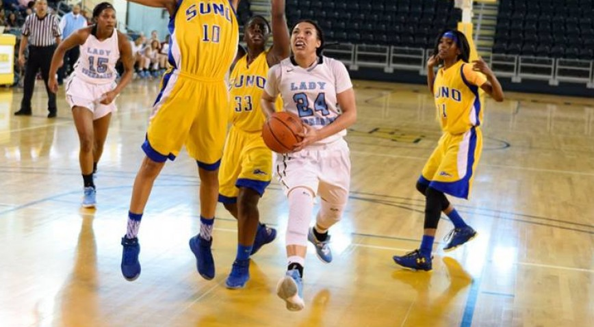 Tajanee Wells had a team-high 17 points for Talladega against Lindsey Wilson.