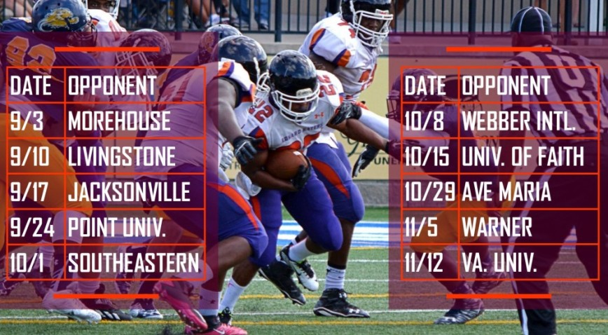 Photo for Edward Waters announces 2016 football schedule