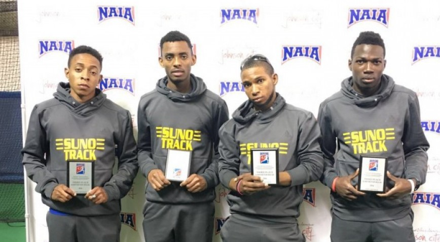 Photo for Knights produce 7 All-America performances at Indoor Nationals