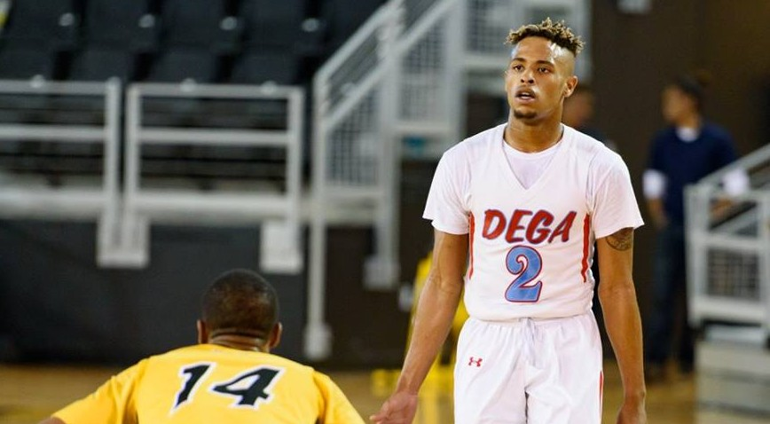 Talladega's Jordan Washington was named Dr. Cavil's Mid-Major Player of the Year.