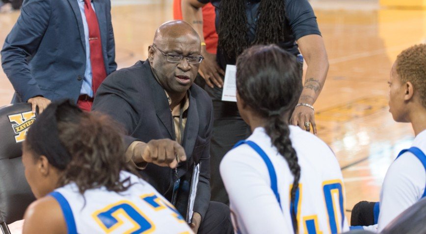 Elston King was a part of 566 wins at SUNO as either an assistant or head basketball coach.
