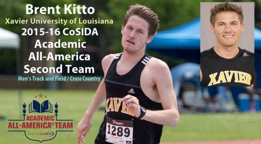 Photo for XU's Kitto selected second-team Academic All-America