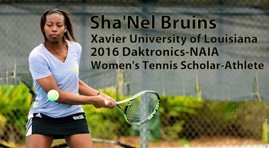 Photo for Bruins earns XU's 6th NAIA Scholar award of 2015-16