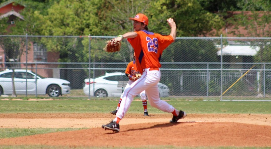 Senior Pitcher Richard Edwards Leads Tigers With 9-2 Record