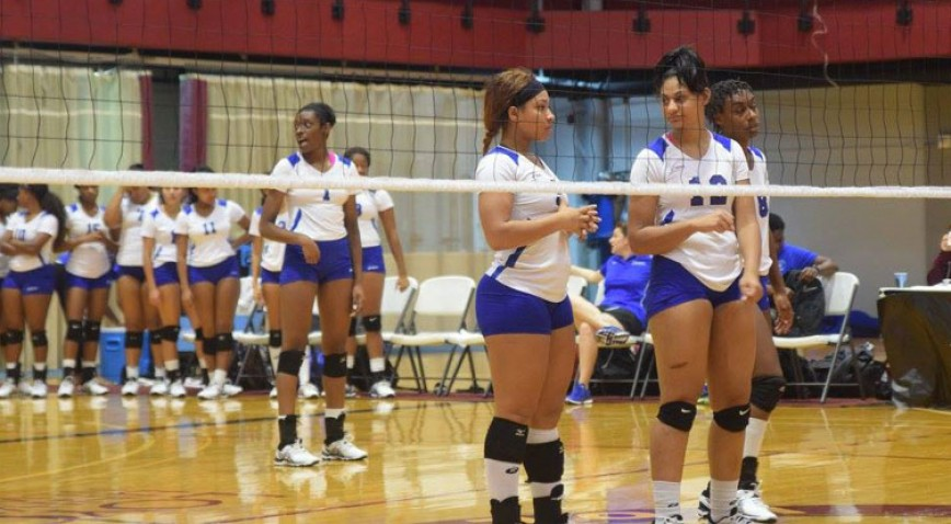 The Lady Bleu Devils currently sit in 3rd place in the GCAC.