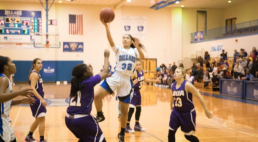 The Lady Bleu Devils snapped a 3-game losing streak with a win over LSU-A.