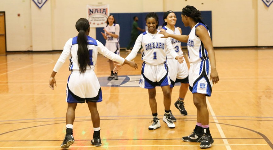The Lady Bleu Devils are 2-1 in GCAC play.