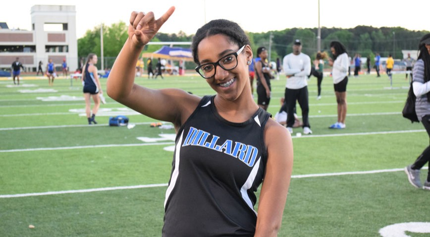 Joycelyn Daggs picked up her second consecutive first place finish in as many weeks.