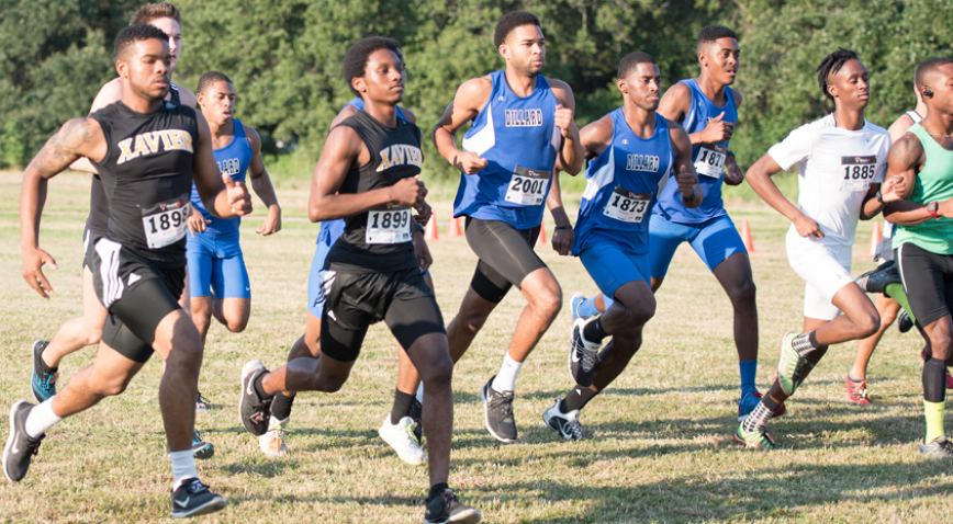 Dillard University finished 3rd in the Allstate Sugar Bowl Cross Country Festival.
