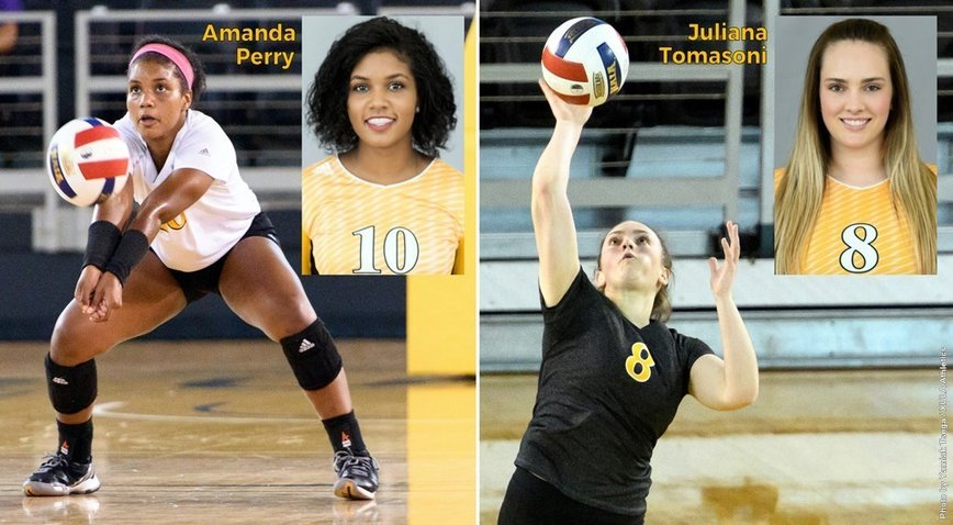 Photo for XULA's Perry is state's top freshman; Tomasoni honored