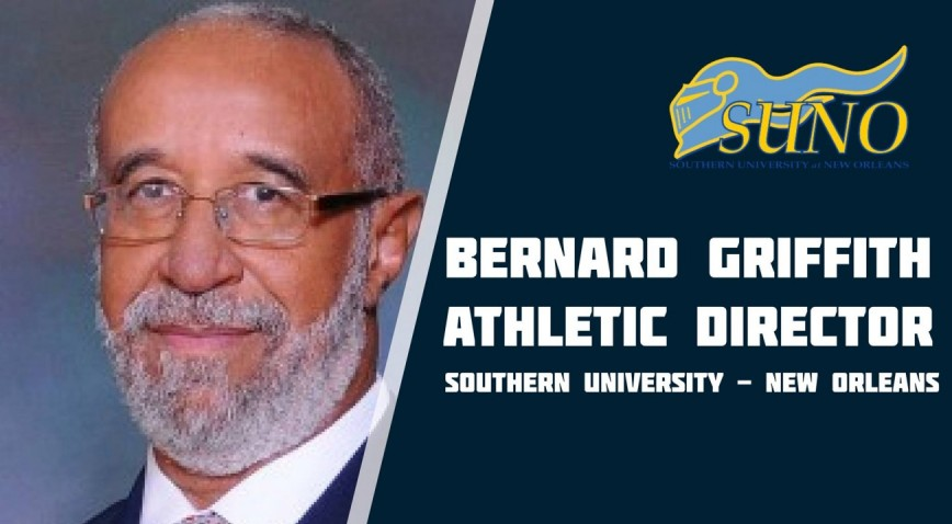 Photo for Griffith named SUNO Athletic Director