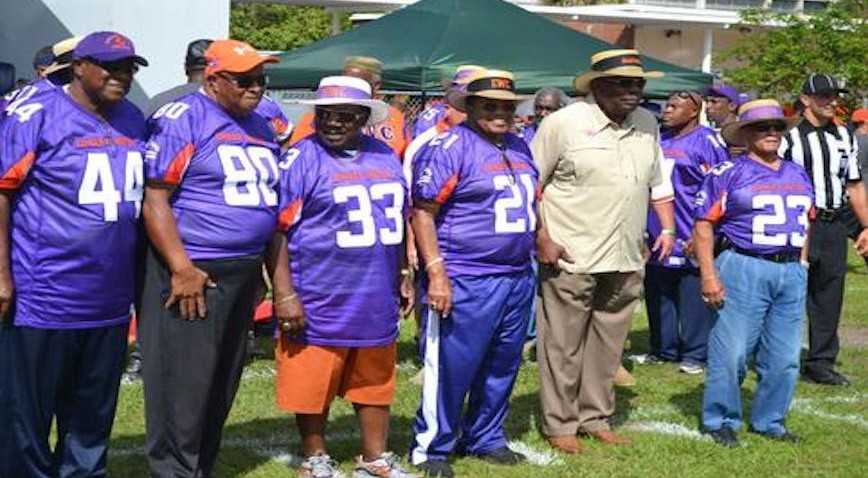 Willis Ivery Simmons (#21 in photo) With Fellow Members of the Undefeated 1964 Football Team