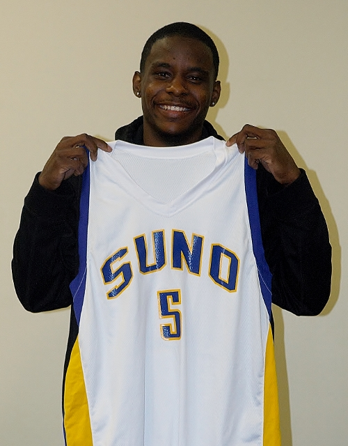Melvin Davis is expected to bring leadership and scoring to the SUNO backcourt next season.